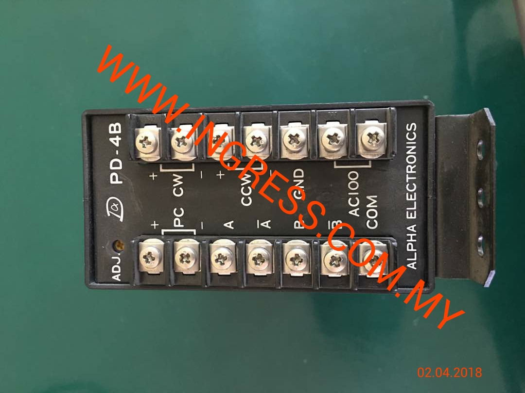 Repair ALPHA ELECTRONICS MOTOR CONTROLLER PD-4B