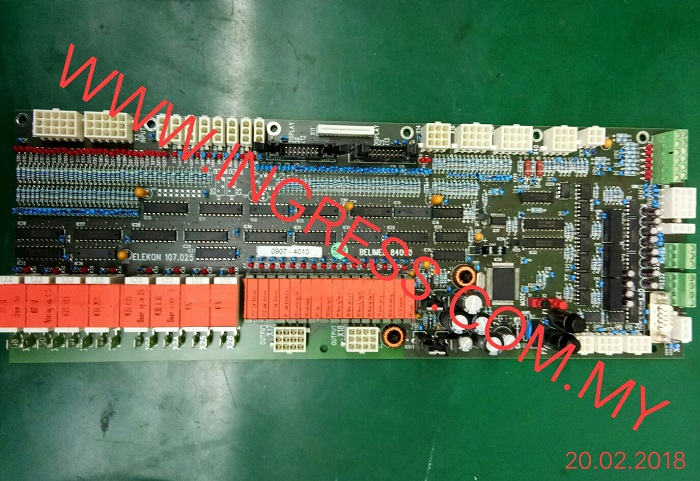 Repair BELIMED 84000 PCB BOARD 107.025