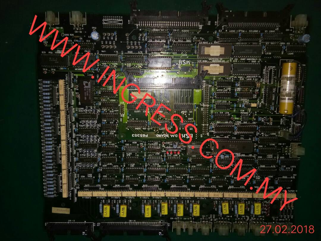 Repair BSK MPU BOARD P65353