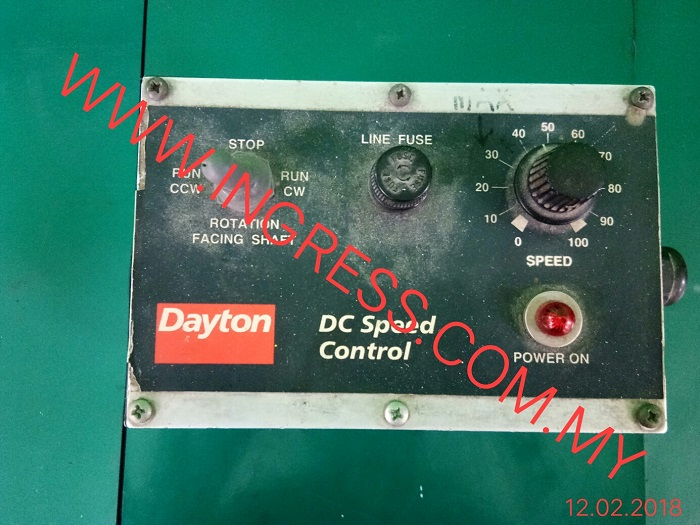 Repair DAYTON DC SPEED CONTROL 2Z846D
