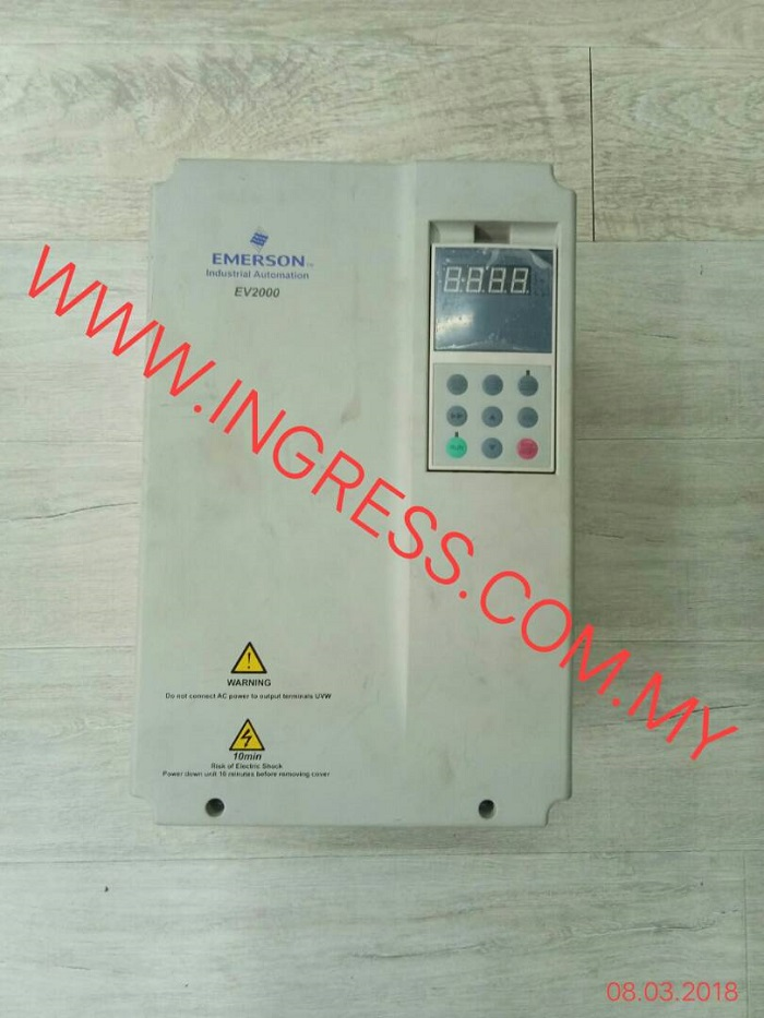 Repair EMERSON INVERTER EY2000 4T0110G