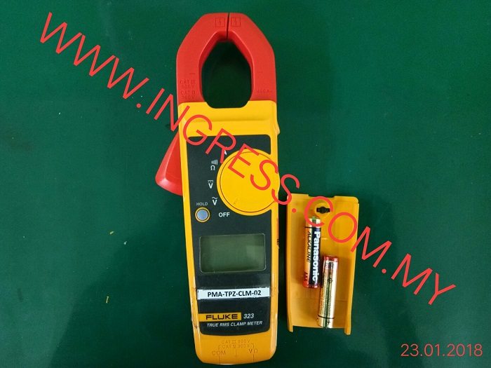 Repair FLUKE 323 TRUE RMS CLAMP METER PMA TPZ CLM-02