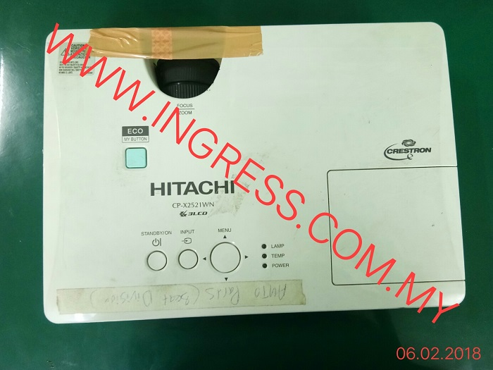 Repair HITACHI LCD PROJECTOR CP-X2521WN
