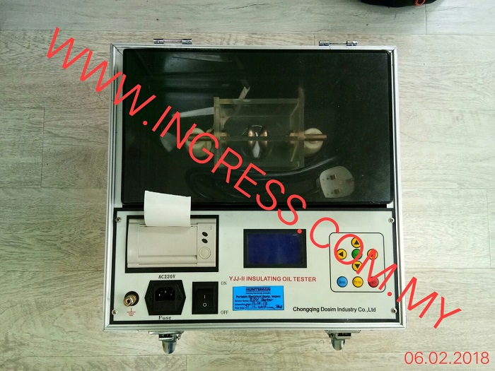 Repair HUNSTMAN YJJ-II INSULATING OIL TESTER