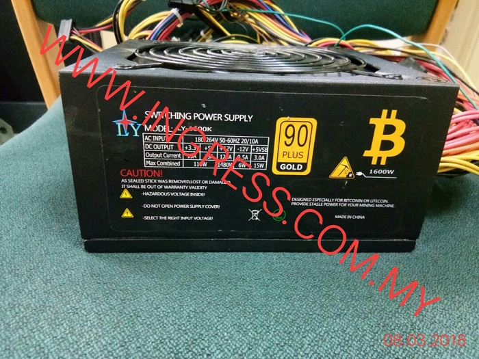 Repair LY POWER SUPPLY LY-1600K