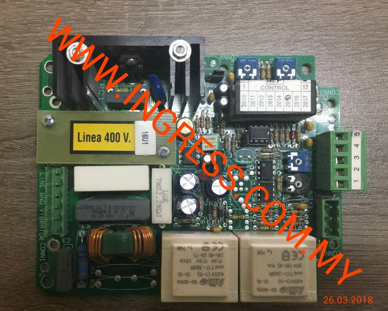 Repair MP ELETTRONICA SESTO PCB BOARD MP1219P