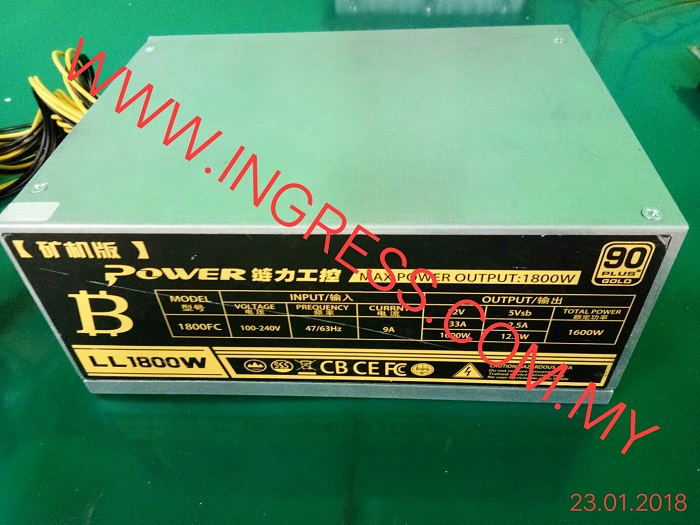 Repair POWER SUPPLY LL1800W
