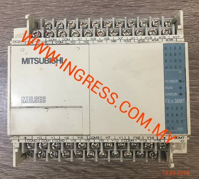 Repair PROGRAMMABLE CONTROLLER FX1S 30MT-D